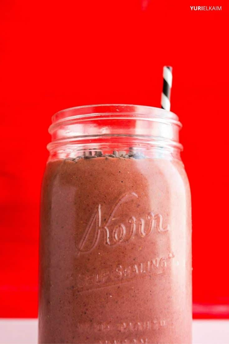 Red Velvet Beet Smoothie with Greens