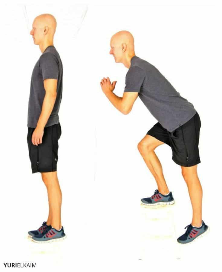 Single Leg Drop Squat
