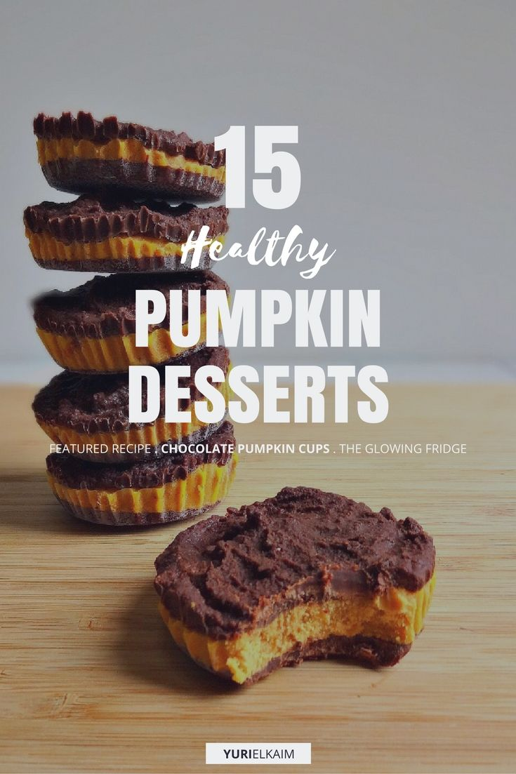 15 Healthy Pumpkin Desserts You'll Want to Make