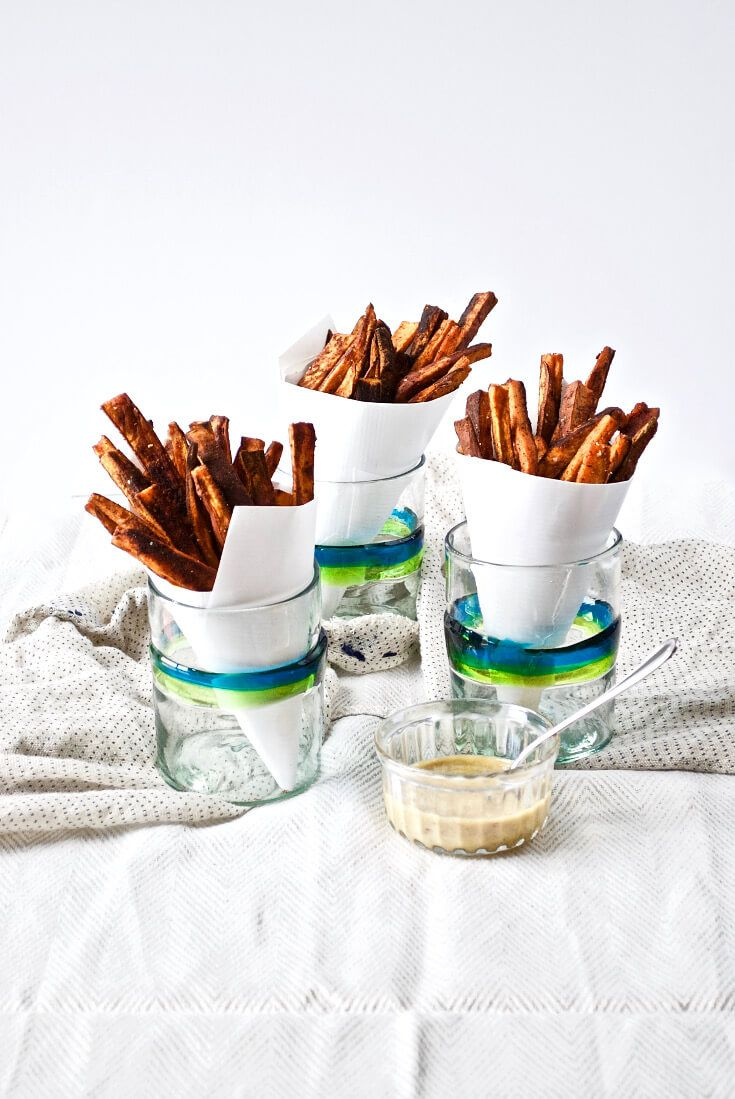 bbq-baked-sweet-potato-fries-with-honey-mustard-sauce-via-modern-granola
