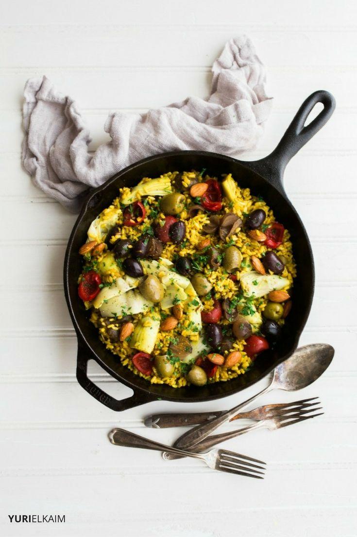 Easy Vegetarian Paella