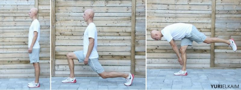 Lunge with Hamstring Stretch