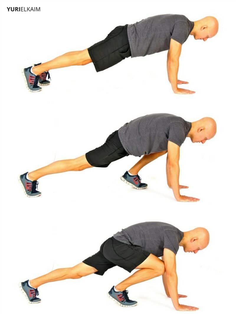 The 25 Minute Full Body Bodyweight Blast Workout Yuri Elkaim Circuit Training Without Weights 1 Mountain Climbers