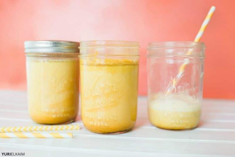 Pumpkin Pie-Spiced Turmeric Milk