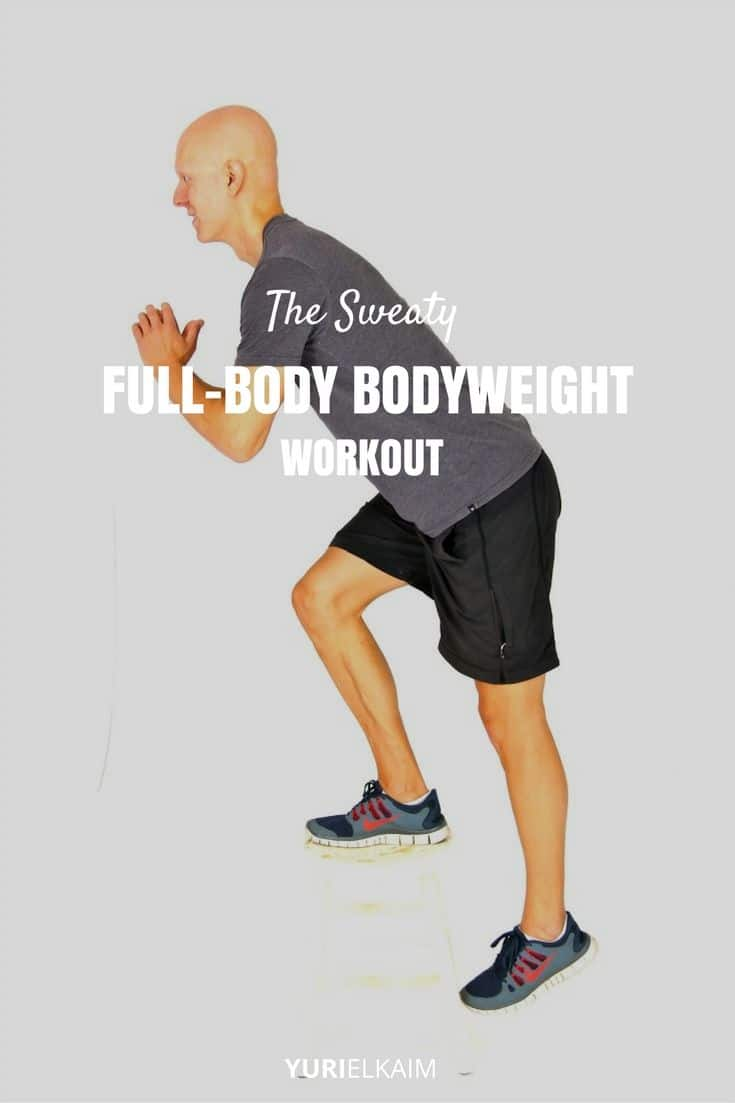 This Full-Body Bodyweight Workout Will Make You Sweat
