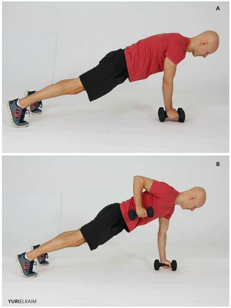 DB Compound Exercise - Renegade Row