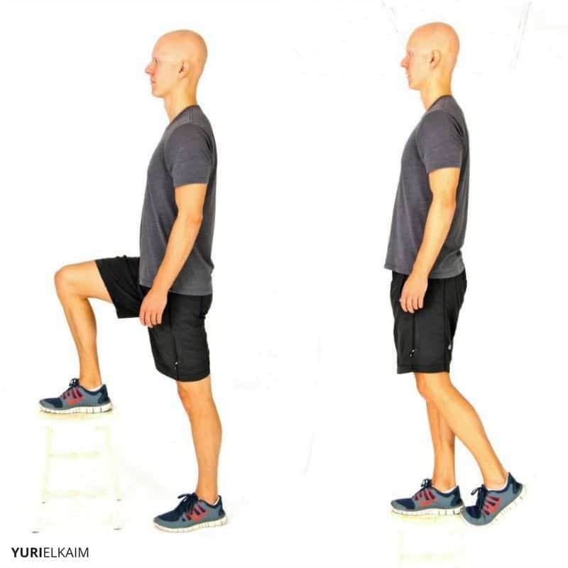 Bodyweight Step ups