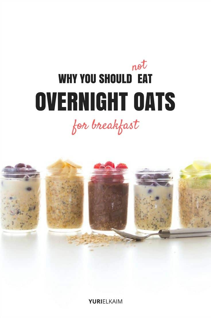 This Is Why You Should Not Eat Overnight Oats in the Morning