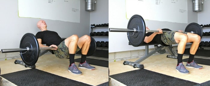 barbell-hip-thrusters