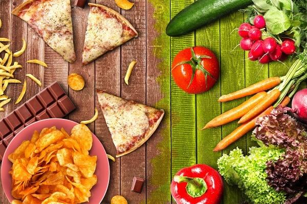 processed food vs real food