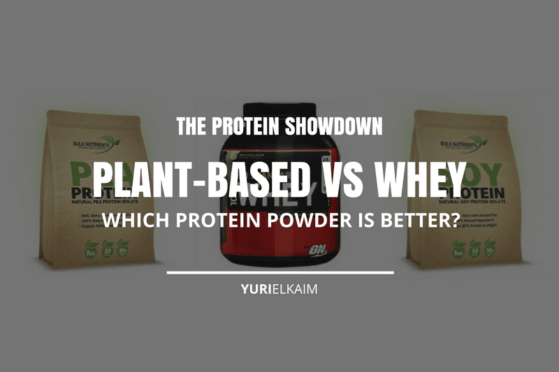 Plant Based Protein vs Whey Protein Showdown: Which is Better?