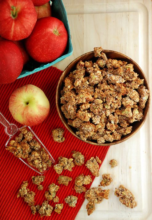 Apple Pie Paleo Granola via Multiply Delicious