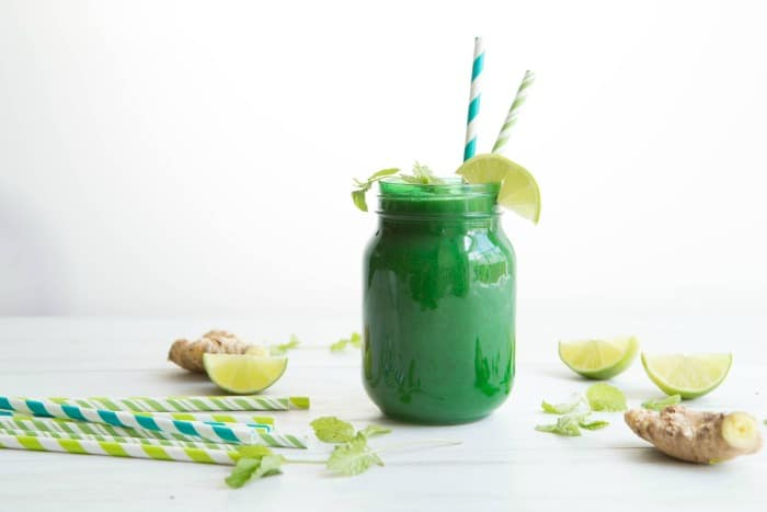 Ginger Mint Detox Smoothie