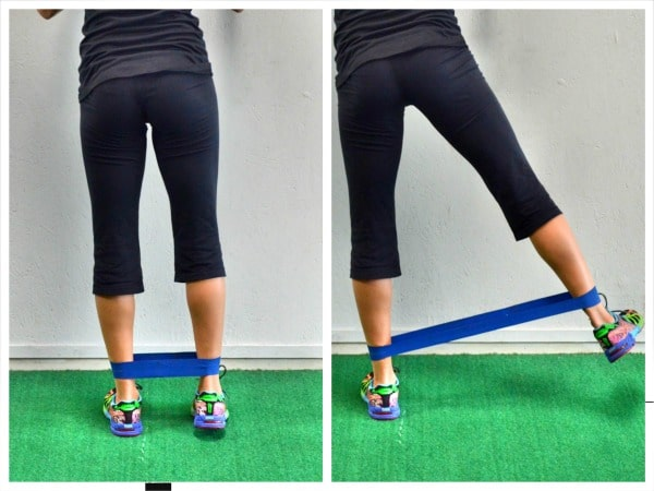Glute Activation Exercises - Standing Abductor Lift
