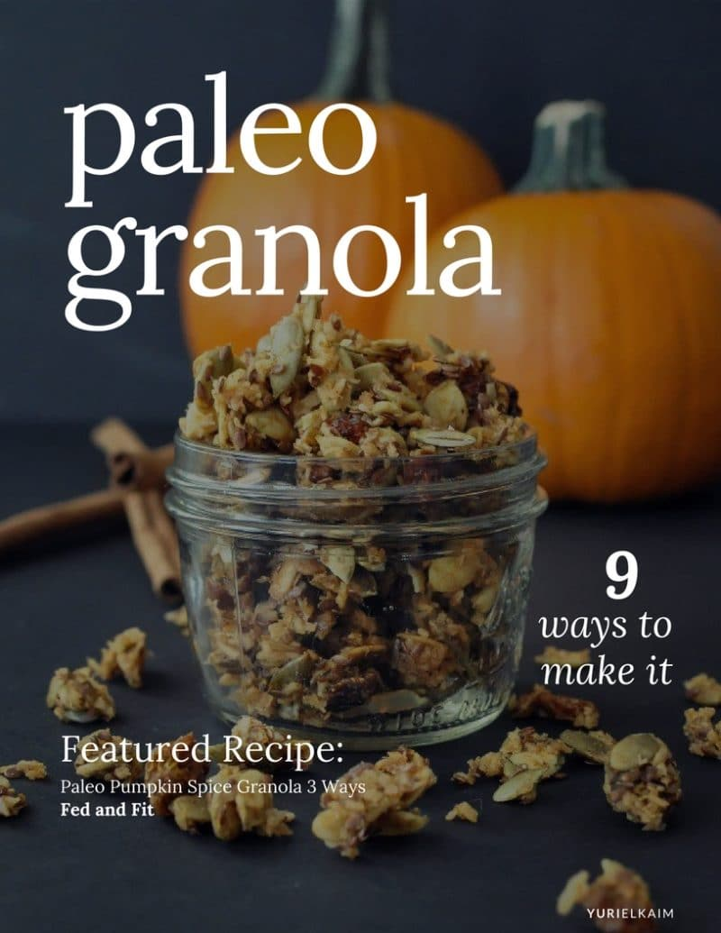 Paleo Granola: How to Make It 9 Different Ways