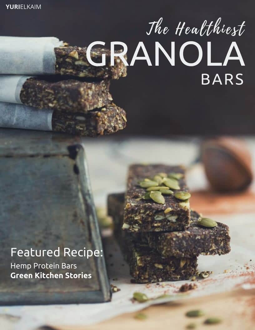 The 13 Healthiest Granola Bars (Youu0027ll Want To Make These)