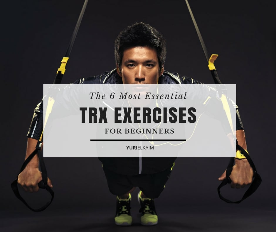 Full Body TRX Workout via Yuri Elkaim