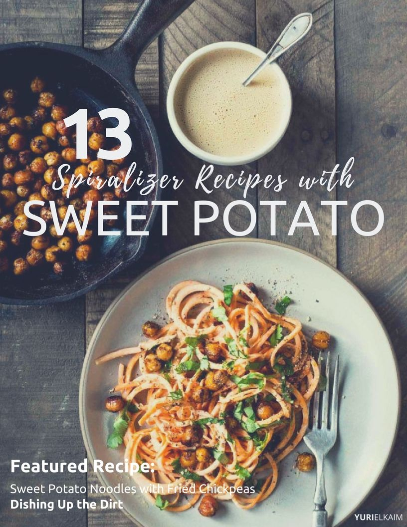 13 Awesome Spiralizer Sweet Potato Recipes