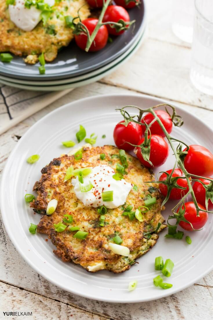 6-Ingredient Cauliflower Hash Browns