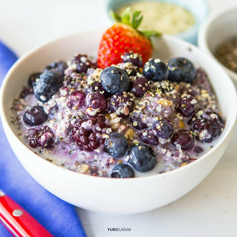 Fiber Starter Breakfast Bowl