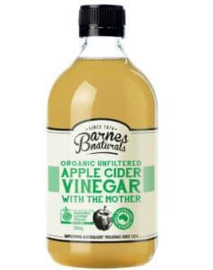 Natural Remedies for Dandruff - Apple Cider Vinegar