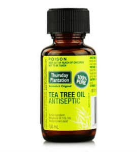 Natural Remedies for Dandruff - Tea Tree Oil