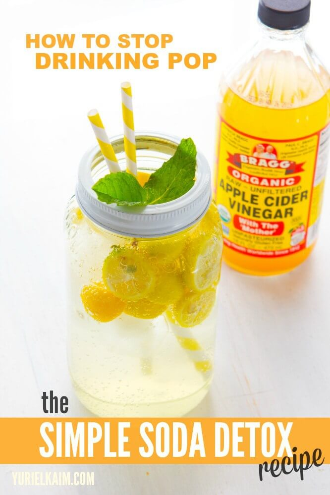 Apple Cider Vinegar Drink via Yuri Elkaim
