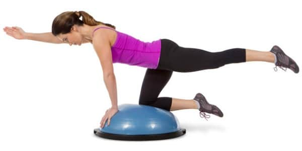 BOSU Ball Ab Exercises - BOSU Bird Dog