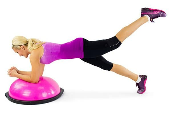 The 13 BOSU Ball Ab Exercises That Are Actually Safe to Do ...