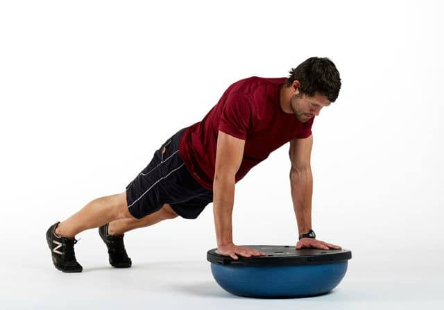 BOSU Ball Ab Exercises - BOSU Plank