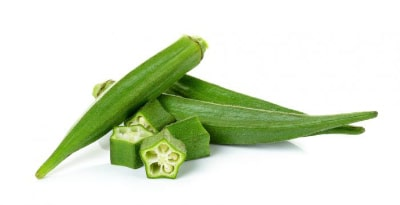 Foods Highest in Calcium - Okra