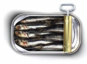 Foods Highest in Calcium - Sardines with Bones
