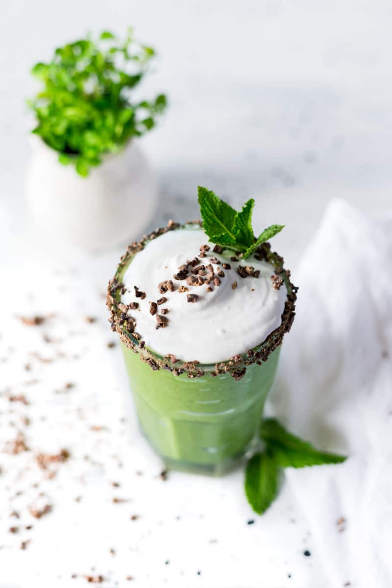 Healthy Shamrock Shake Recipe 2.0