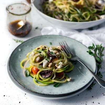 Mediterranean-Spiralized-Zucchini-Salad