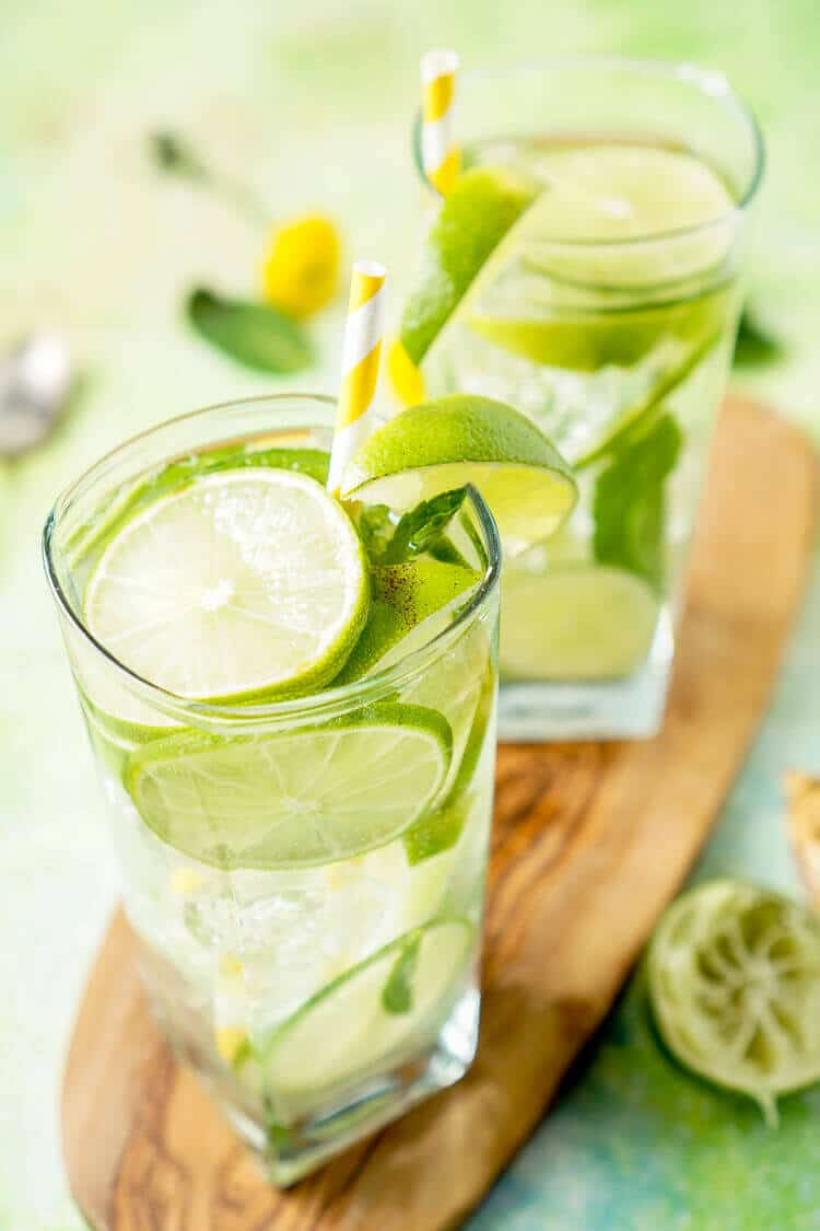 Mojito Water via Sugar and Soul