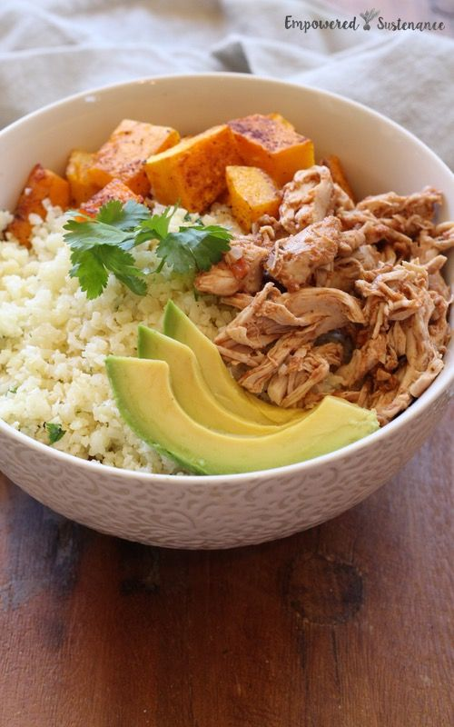Paleo Burrito Bowl via Empowered Sustenance