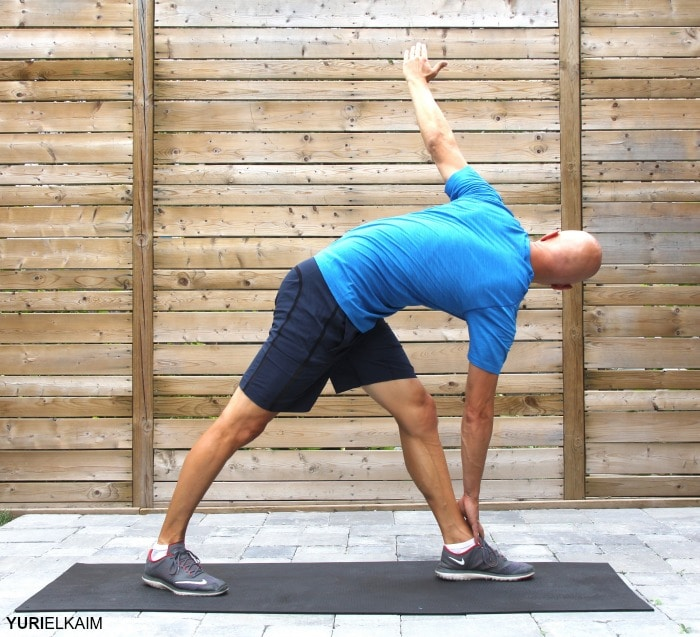 Reverse Triangle Pose