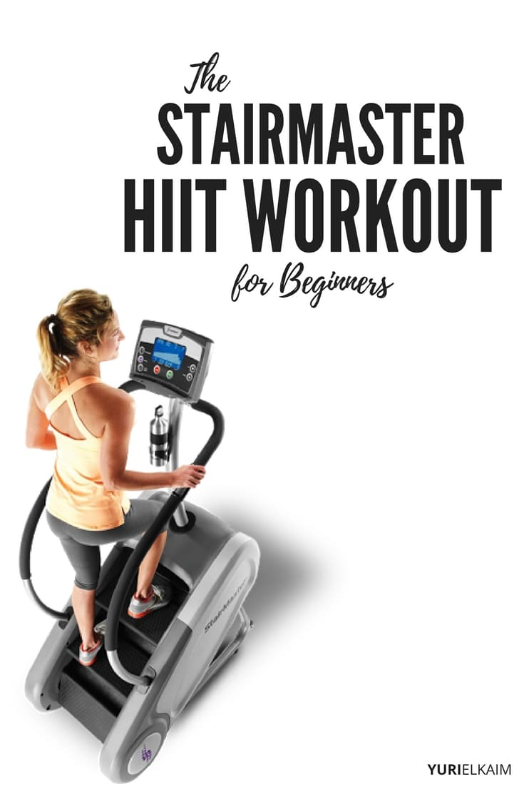 The Stairmaster HIIT Workout for Beginners