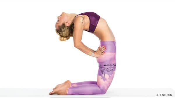 Yoga Hip Openers - Camel Pose