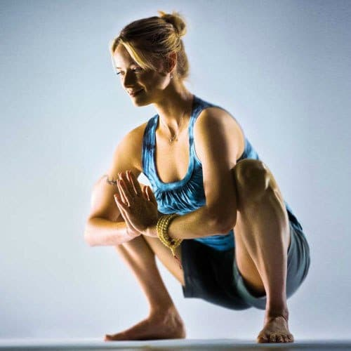 Yoga Hip Openers - Modified Garland Pose
