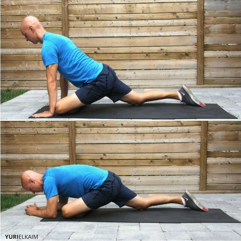 Yoga Hip Openers - Pigeon Pose