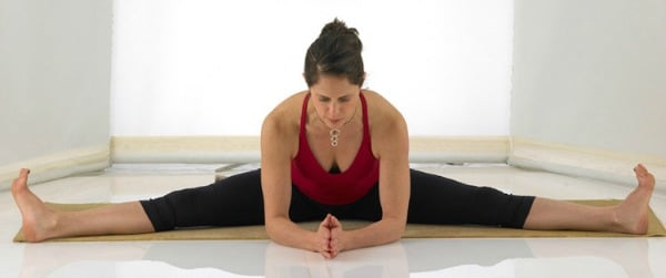 Yoga Hip Openers - Seated Wide-Legged Forward Bend