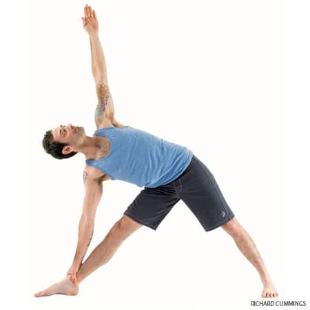 Yoga Hip Openers - Triangle Pose