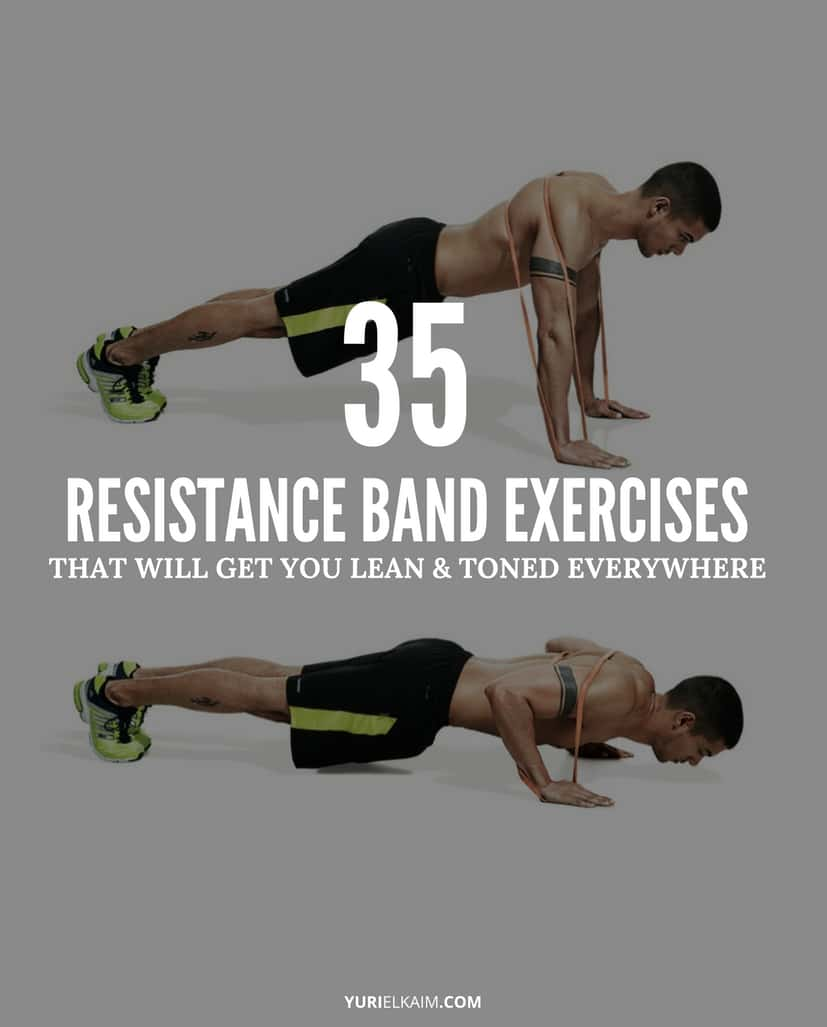 35 Best Resistance Loop Band Exercises (Core, Upper And