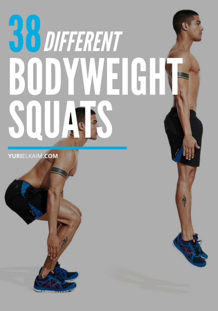 38 Different Types of Bodyweight Squats