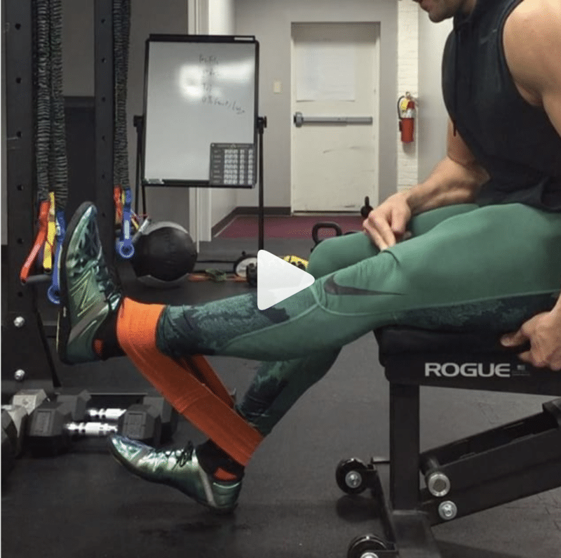 Banded Leg Extension via BJ Gaddour