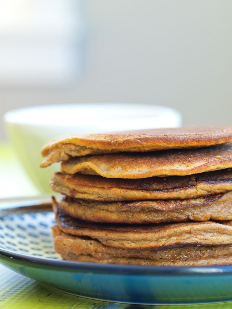 5-Ingredient Paleo Pancakes via Happy Healthy Mama