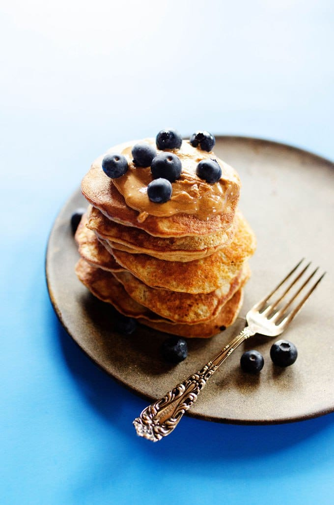 Paleo Banana Pancakes via Live Eat Learn