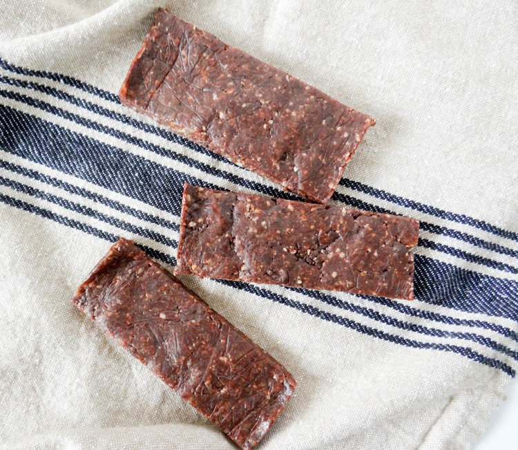 Chocolate Larabars via The Delicious Balance