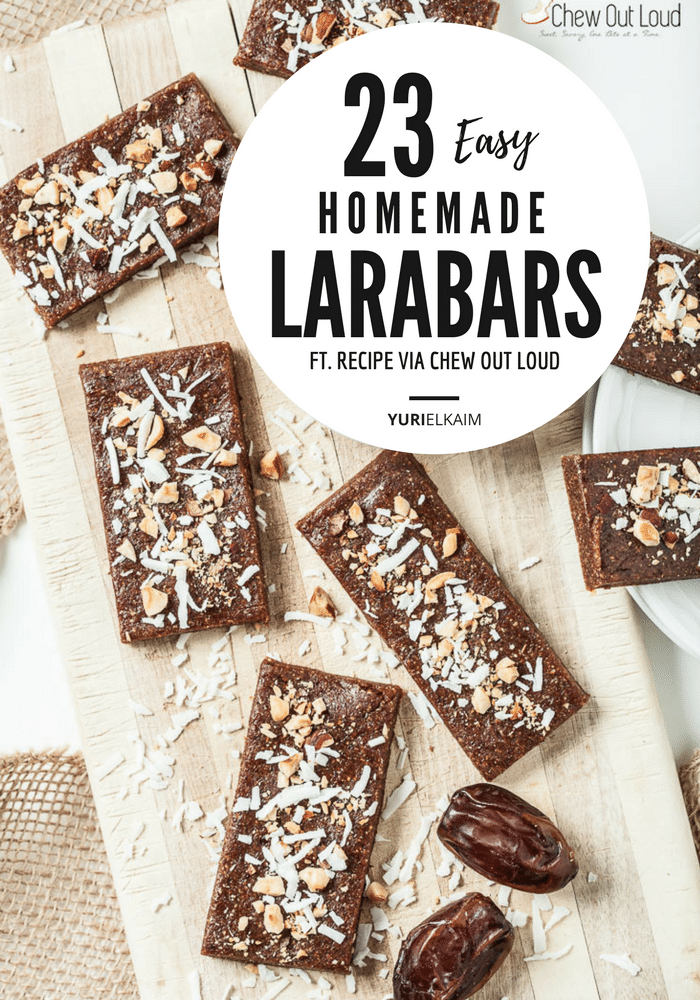 Homemade Larabars: 14 Recipes You Can Easily Make